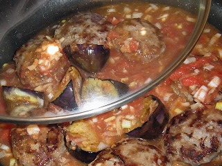 キレイの台所【とろとろナスの煮込みハンバーグ】寺田真二郎さんのレシピ