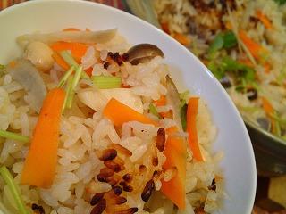 レシピ栗原はるみ 炊き込みご飯