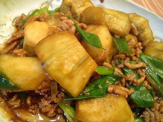レシピ ナスと挽き肉の煮込み