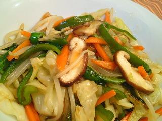 レシピ 野菜炒め