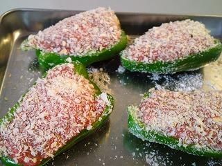 レシピ ピーマンの肉詰め