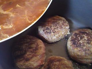 レシピ 煮込みハンバーグ