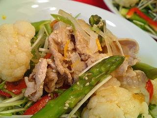レシピ 豚しゃぶサラダ