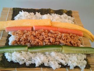 レシピ 太巻き寿司