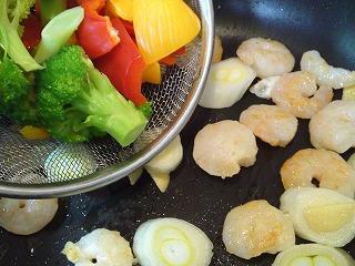 レシピ エビの塩味炒め