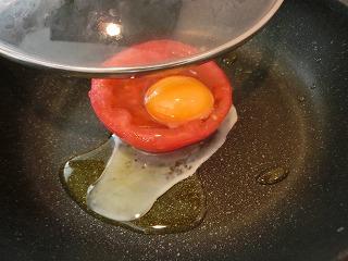 レシピ とろーり卵とトマトのサラダ
