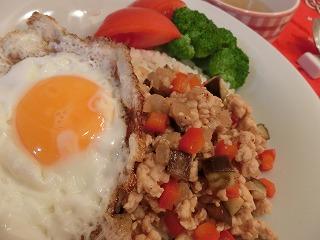 レシピ ガパオライス