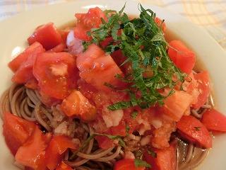レシピ トマトおろしそば