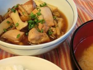 上沼恵美子のおしゃべりクッキングのきのこと鶏の甘辛煮