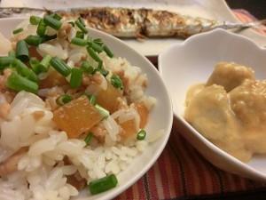 NHKあさイチのとうがんと鶏肉の混ぜごはん