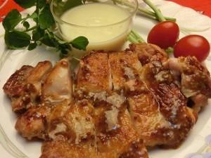 キューピー3分クッキングの鶏肉のハニーマスタード焼き