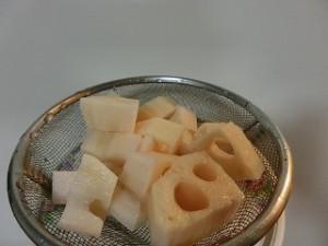 きょうの料理の豚肉とれんこんの炒め煮