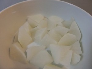 きょうの料理の大根と肉だんごのしょうゆ煮