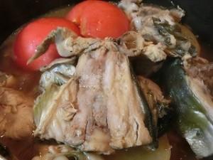 ノンストップ!のブリ大根のトマト煮