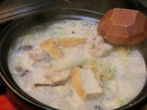 みんなの家庭の医学のふわふわ鶏団子の豆乳鍋
