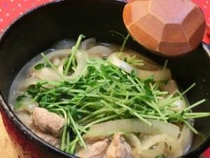 男子ごはんの鶏と香味野菜のすき焼き鍋