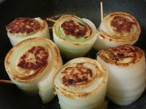 ノンストップ!の白菜の肉詰め焼き