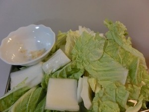 NHKあさイチの白菜そぼろ