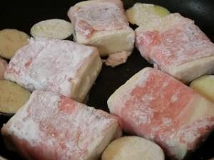 ノンストップ!の豚肉巻き高野豆腐&茄子の甘酢あん