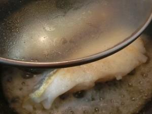 ノンストップ!のバタポンソースde鱈のムニエル