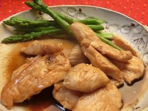 きょうの料理の鶏むね照り焼き
