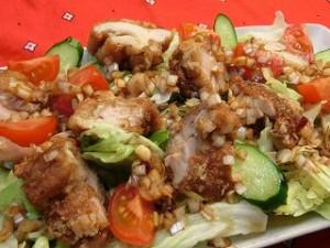きょうの料理の揚げ鶏のねぎソース