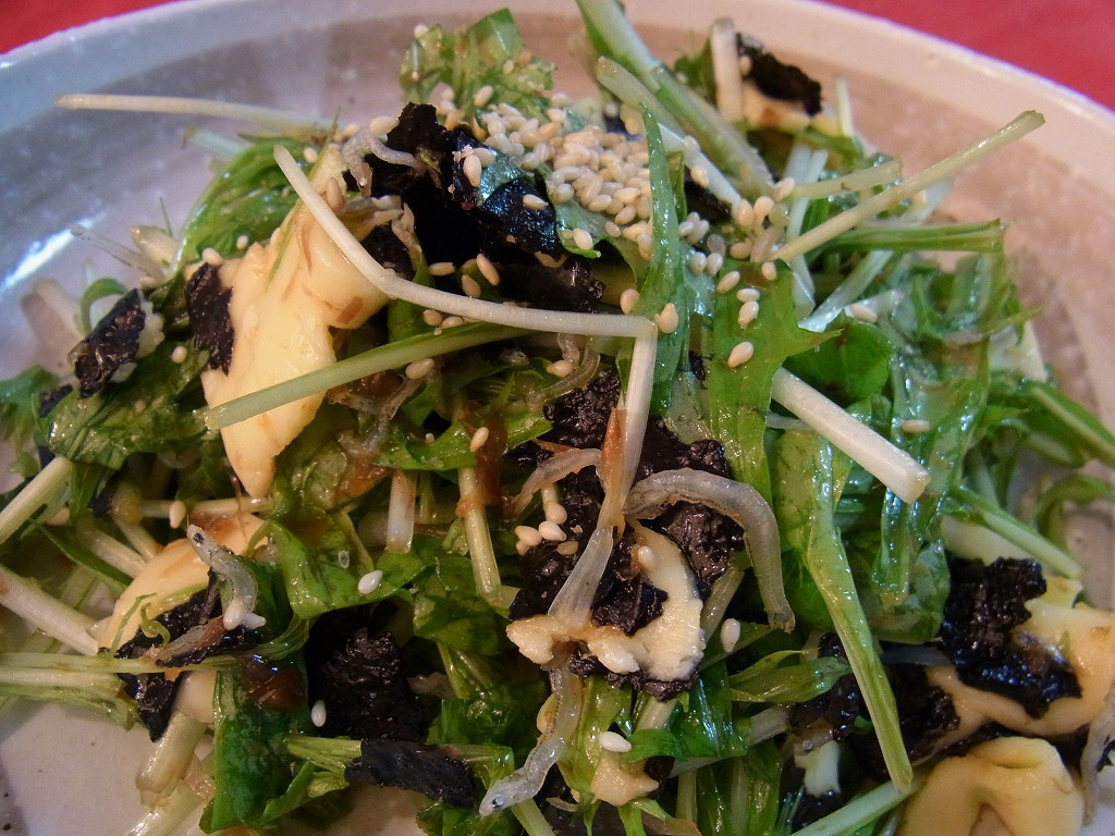 mizuna,wasabi