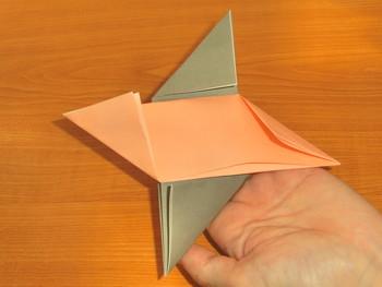 簡単 折り紙 折り紙 めんこ : art-fun.net
