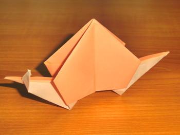 ハート 折り紙 折り紙 かたつむり 立体 折り方 : art-fun.net