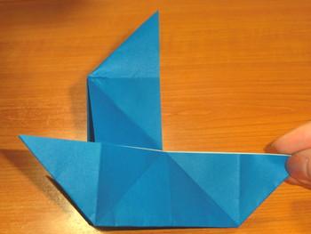 簡単 折り紙 折り紙 ヨット 折り方 : art-fun.net