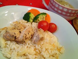 レシピ NHKあさイチごはん 鶏にんにくの炊き込みごはん
