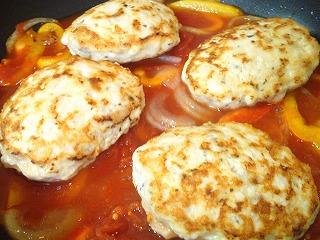 レシピ チキンハンバーグ