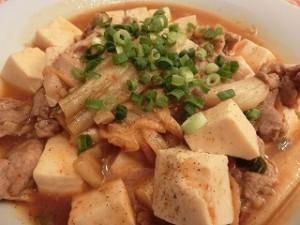 世界にひとつ ミラクルレシピの豚キム麻婆豆腐