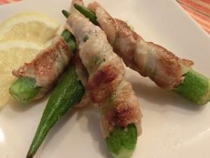 NHKきょうの料理ビギナーズのオクラの豚肉巻き