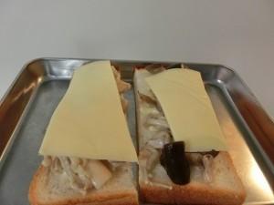 NHKきょうの料理のきのこチーズトースト