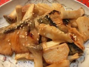 上沼恵美子のおしゃべりクッキングの鮭の照り焼きゴマ風味